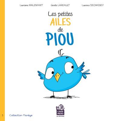 Les petites ailes de Piou, ISBN 978-2-924421-45-1